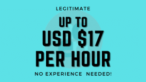Read more about the article Legitimate at work from home jobs !